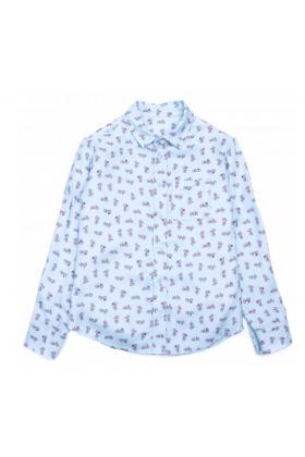 Рубашка бирюзовая для мальчика
