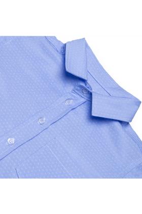 Рубашка голубая для мальчика