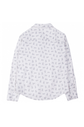 Рубашка молочная для мальчика