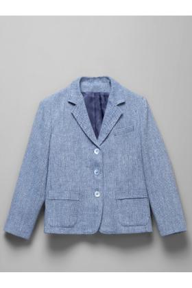 Пиджак классический твидовый