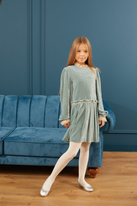 Платье бархатное «Тиффани»