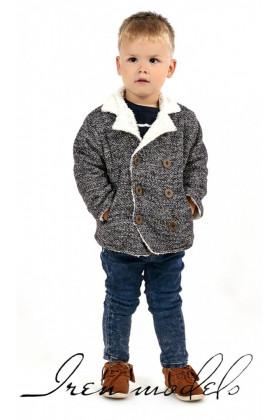 Полупальто - пиджак на меху